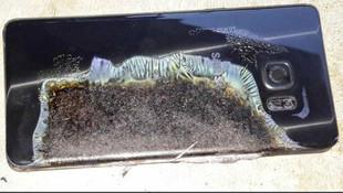 Samsung Galaxy Note 9 alev aldı, patladı !