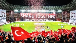 Türkiye, stadyumlar konusunda Almanya'ya fark attı !