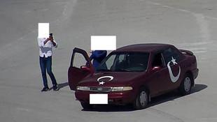 Türkiye'de bir ilk ! ''Kiki challenge'' cezası kesildi