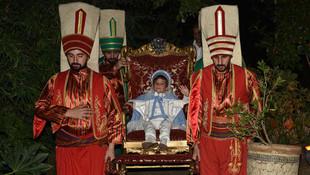 Ağaoğlu'nun oğlu sünnet oldu