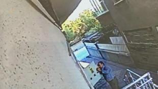 Pes artık ! Gizli kamera üst komşuyu ele verdi
