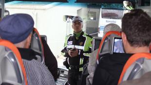 Şehirlerarası otobüslerde kemer takmayan yolculara 108 TL ceza