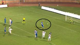 Batuhan Karadeniz'in penaltısı sosyal medyada olay oldu