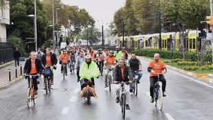 İstanbullulara bisiklet yolu müjdesi