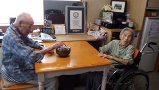 Dünyanın en yaşlı çifti