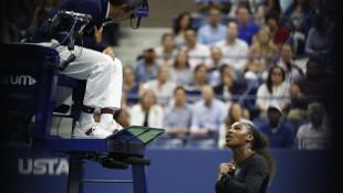 Serena Williams çılgına döndü !