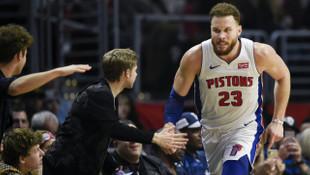 Detroit Pistons, Los Angeles Clippers'ı 109-104 mağlup etti