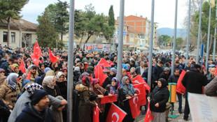AK Partili başkan için yüzlerce kişi toplandı