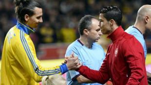 Zlatan Ibrahimovic'ten Cristiano Ronaldo'ya çok sert eleştiri