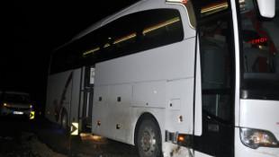 Zenit Kazan Erkek Voleybol Takımı Ankara'da kaza yaptı
