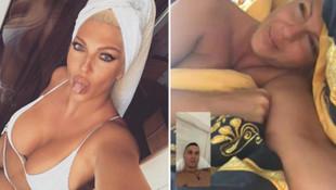 Jelena Karleusa'nın skandal fotoğrafları ortaya çıktı! Tosic'i o futbolcuyl