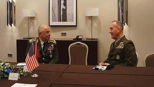 Türkiye ve ABD Genel Kurmay Başkanları görüştü