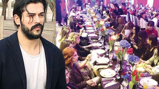 Burak Özçivit'e ''80 kadınla yemek'' eleştirisi