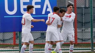 Türkiye 2 - 0 İspanya (Türkiye U16 Takımı Ege Kupası şampiyonu)