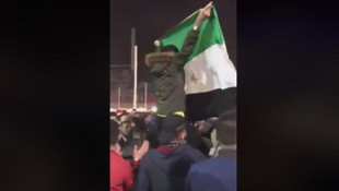 ''Suriyeliler o bayrakları Taksim'de değil, gidip Suriye'de sallasın''