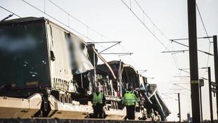 Danimarka'da tren kazası: 6 ölü