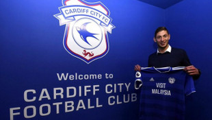 Emiliano Sala rekor bedelle Cardiff City'de
