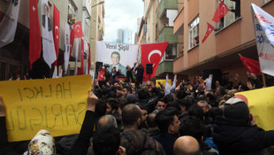 Mecidiyeköy'de Mustafa Sarıgül'e sevgi seli
