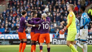 Huddersfield Town 0 - 3 Manchester City (Premier Lig)