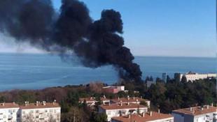 Üniversitede korkutan patlama ! Dumanlar gökyüzünü sardı
