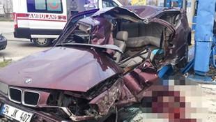 İstanbul'da korkunç kaza: 2 ölü