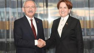 Kılıçdaroğlu ve Akşener'den sürpriz zirve