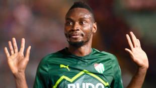 Bursaspor'da Sakho asistle döndü