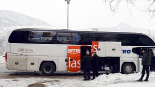 Yolcular otobüs şoförünü ihbar etti