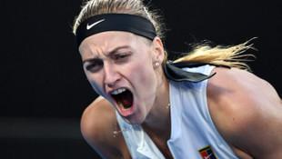 Petra Kvitova, Avustralya Açık'ta yarı finale yükseldi
