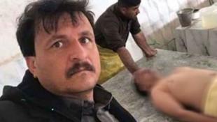 Ölüyle selfie çeken mezarcı mahkemelik oldu