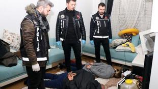 İstanbul'da rezidansa baskın ! Polis bile şaşırdı...