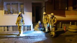 İstanbul'da doğalgaz kutusunda yangın paniği
