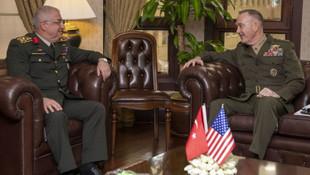 Genelkurmay Başkanı Güler ABD'li mevkidaşıyla görüştü
