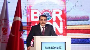 Türkiye'nin ''bor''undan Türkiye'nin temizlik ürünü: BORON