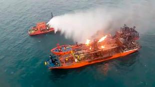 Kerç Boğazı'nda kurtarılan Türk denizciler Türkiye'ye gönderildi