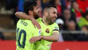 Girona 0 - 2 Barcelona (La Liga)