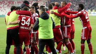 Sivasspor sahasındaki yenilmezlik serisini sürdürdü