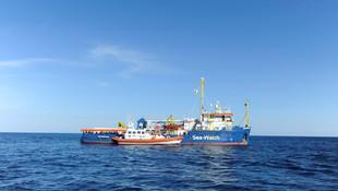 47 göçmen 11 gündür Akdeniz'de