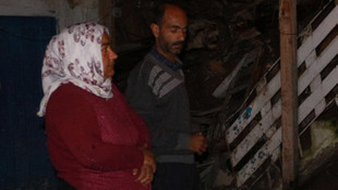 5 kişilik ailenin yaşadığı ev yıkıldı
