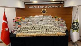 İstanbul'da iki büyük operasyon: Toplam 1 ton 350 kilo ele geçti