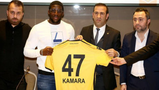 Evkur Yeni Malatyaspor, Aboubakar Kamara'yı sezon sonuna kadar kiraladı