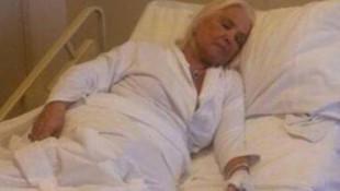 Türkiye'nin taş bebeği Gönül Yazar hastaneye kaldırıldı