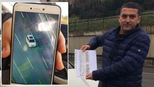 İstanbul'da helikopterle yarışan araç sürücüsüne ceza kesildi