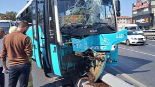 İstanbul'da Özel Halk Otobüsü dehşeti: Yaralılar var