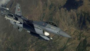 Irak'ın kuzeyine hava harekatı: 2 terörist öldürüldü