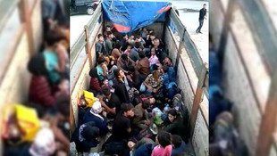 77 göçmen böyle yakalandı