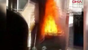 İstanbul'da korkutan yangın! Bir anda alevler içinde kaldı