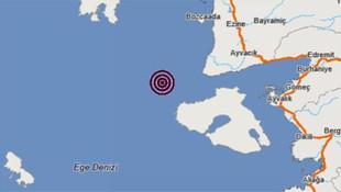 Marmara'dan sonra Ege sallandı ! Peş peşe deprem
