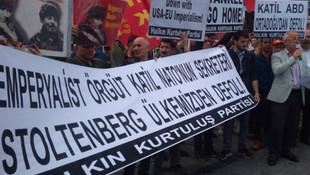 HKP'den NATO Genel Sekreteri'ne proteto