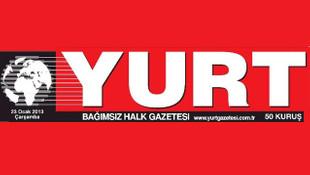 Yurt gazetesi çalışanları iş bıraktı